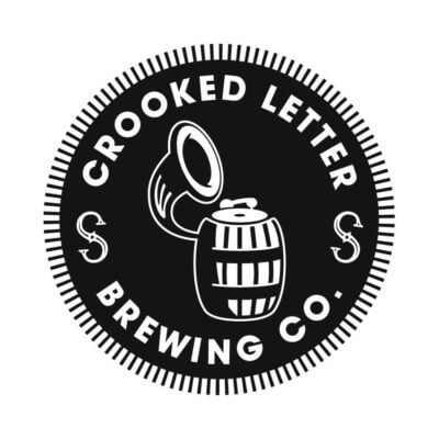 Crooked letter brewing company logo